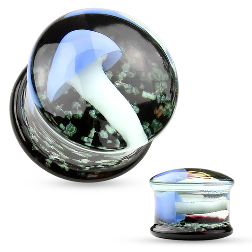 Pyrex glasplugg med svamp