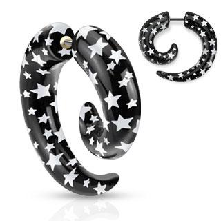 Faketöjning - Spiral med stjärnor