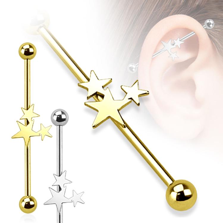 Industrial Barbell - tre stjärnor