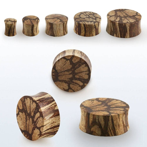 Träplugg batik wood