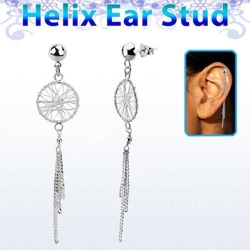 Helix Örhänge - Drömfångare i 925 Silver