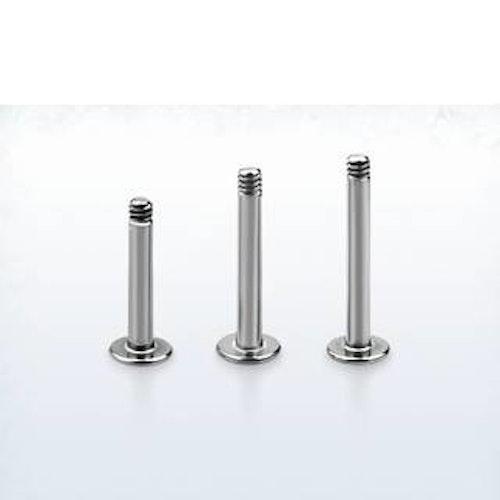 Labret / Monroe stav i 316L Kirurgiskt stål 1.2mm (lös del)