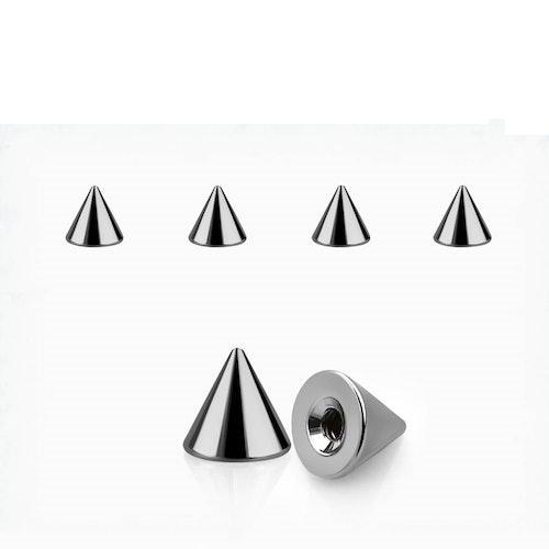 Lös kon 3mm diameter 1.6mm gänga (lös del)