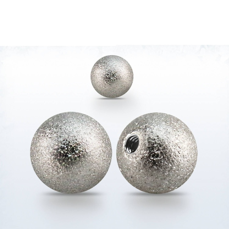 Lös kula frostad 8mm diameter 1.6mm gänga (lös del)