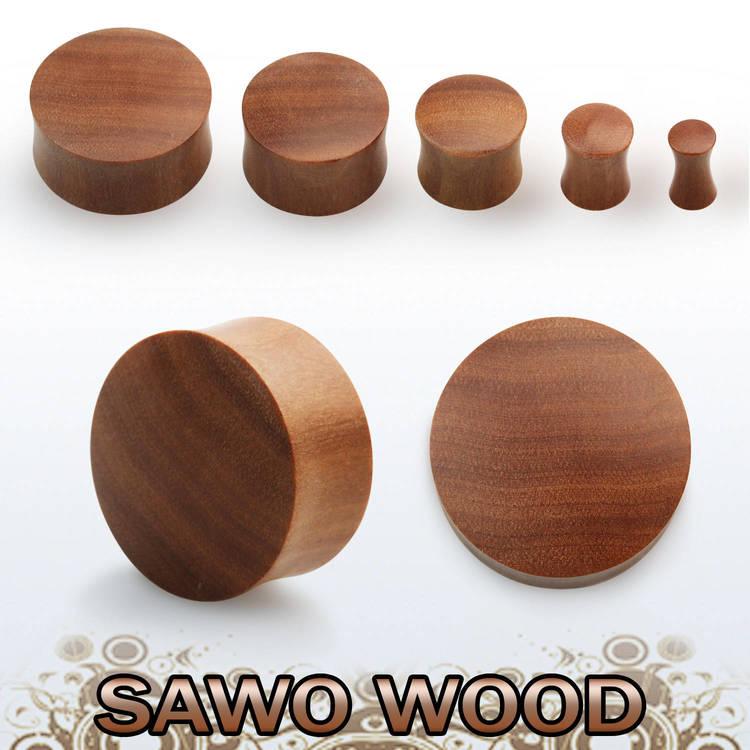 Träplugg sawo wood