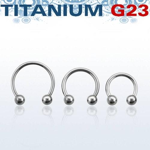 Titanium CBR 1.2mm med 3mm kulor