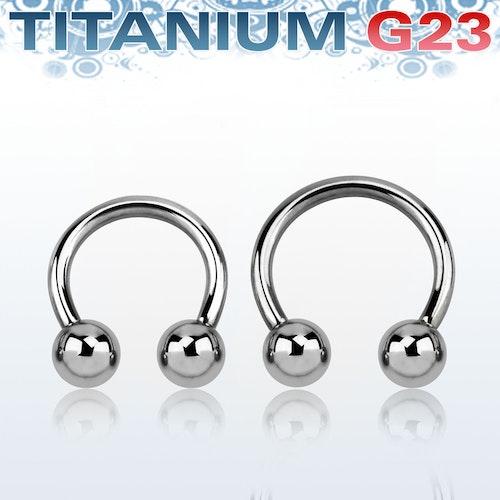 Titanium CBR 2mm med 6mm kulor
