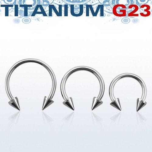 Titanium CBR 1.2mm med 3mm kon