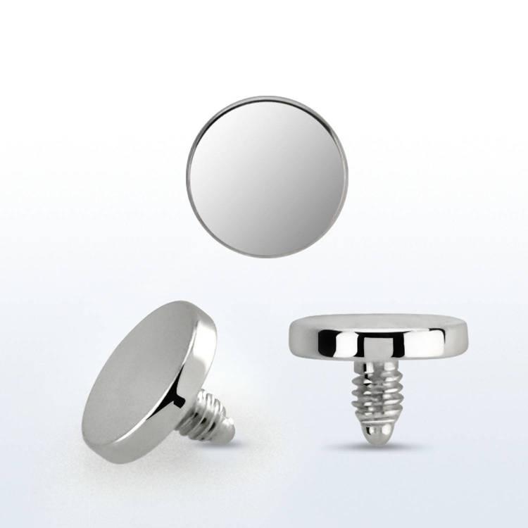 Dermal piercing 1.2mm med 4mm platt topp
