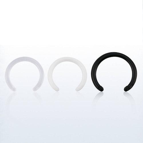 CBR Cirkulär barbell i Bio-Flex 1.2mm (lös del)