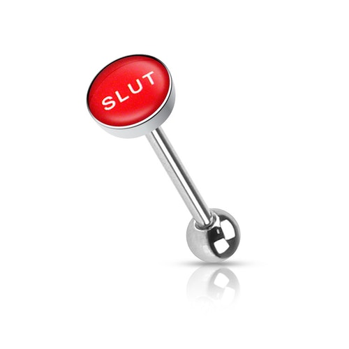 "Barbell / Tungstav med ""slut"" logo"