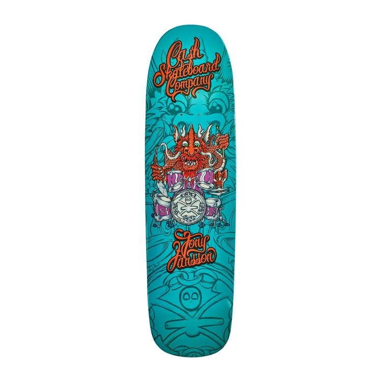 """Cash Skateboards-""""Tony Jansson"""" Colour"""