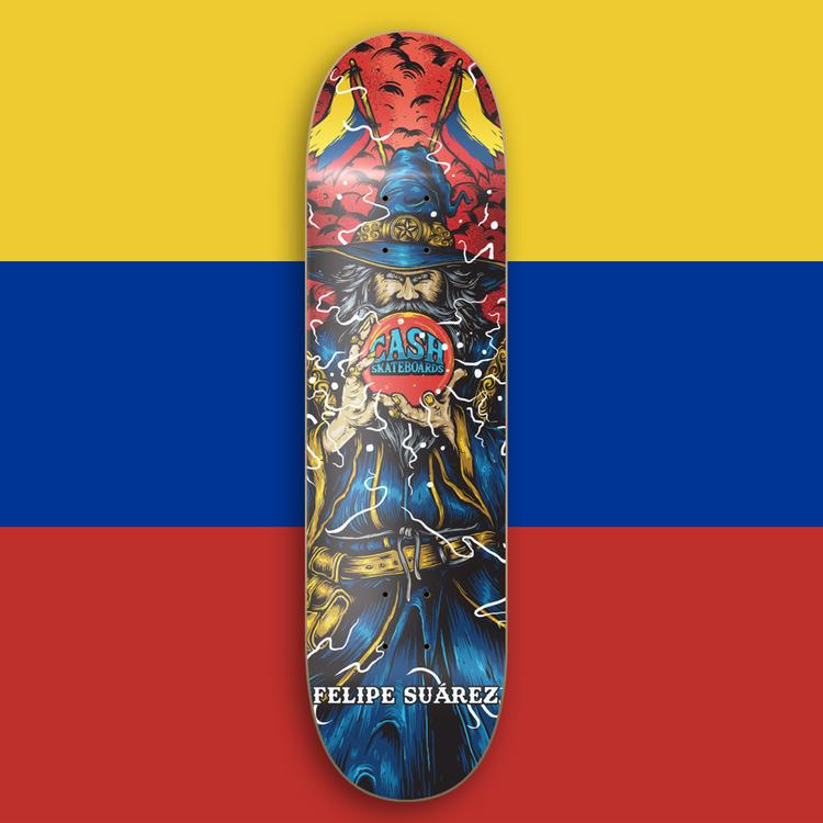"""Cash Skateboards """"Felipe Suárez"""""""