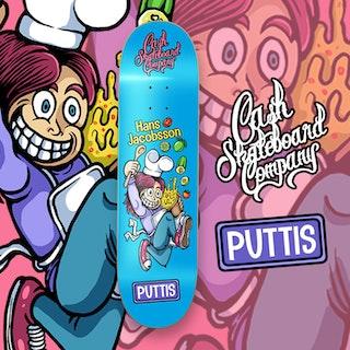 "Cash Skateboards ""Hans Puttis Jacobsson"""