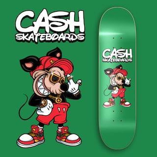 """Cash Skateboards """"Hiphop Mouse"""""""