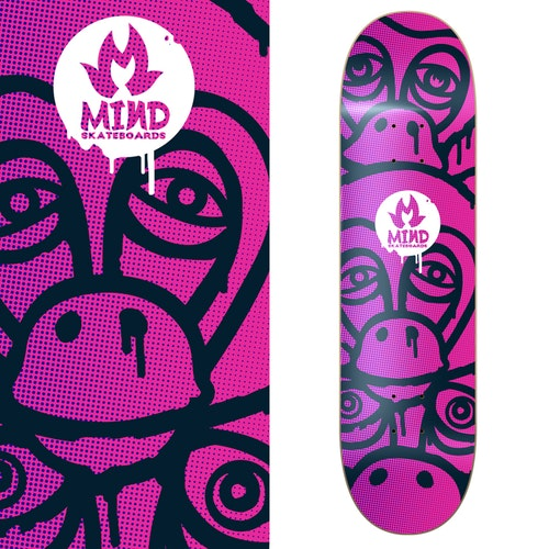 "Mind Skateboards ""Monkey"""