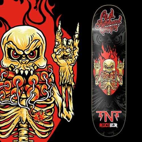 """Cash Skateboards """"TNT"""""""