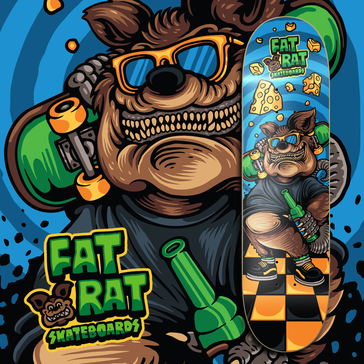 "Fat Rat Skateboards ""Old Fart"""