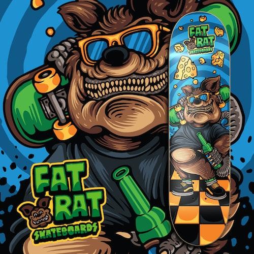 """Fat Rat Skateboards """"Old Fart"""""""