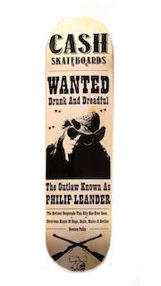 "Cash Skateboards ""Philip Leander Drunk & dreadful"""