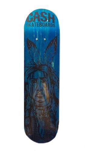 """Cash Skateboards """"Native Indian"""""""
