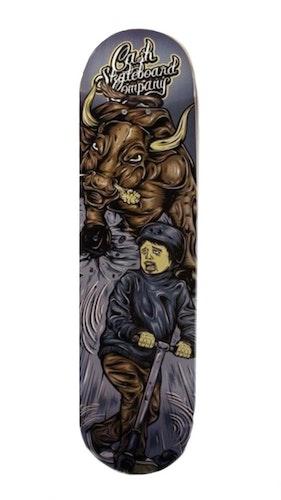 """Cash Skateboards """"Bull fighting"""" (Ord Pris 599kr)"""