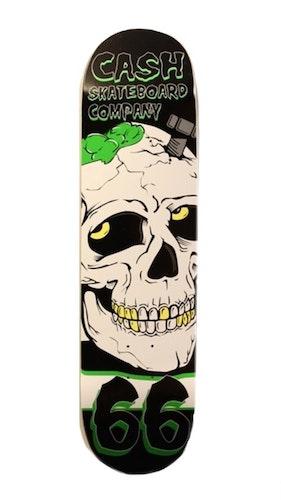 """Cash Skateboards """"Screw skull"""" (Ord Pris 599kr)"""