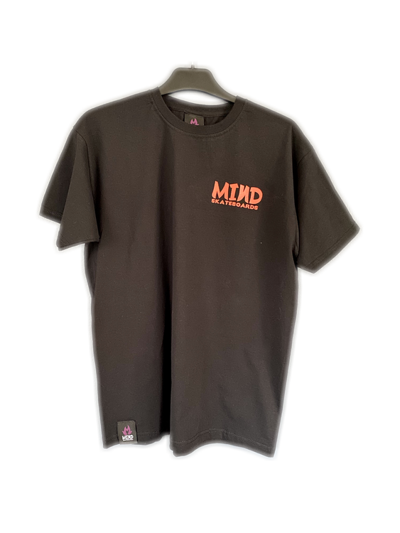 "Mind Skateboards ""Red Front Logo Tee"""