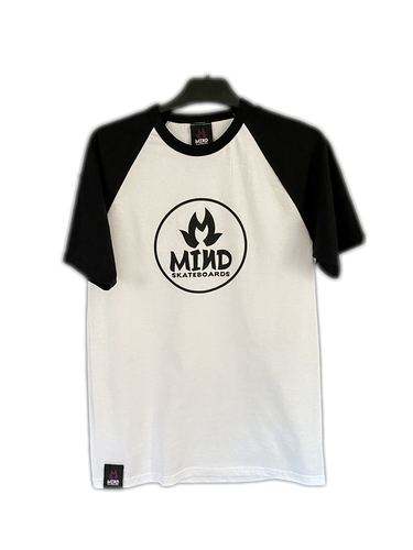 "Mind Skateboards ""Mid Sleeve Raglan Tee"""
