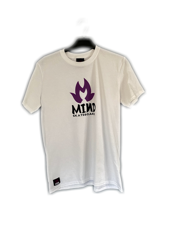 "Mind Skateboards ""Lilac Symbol Tee"""