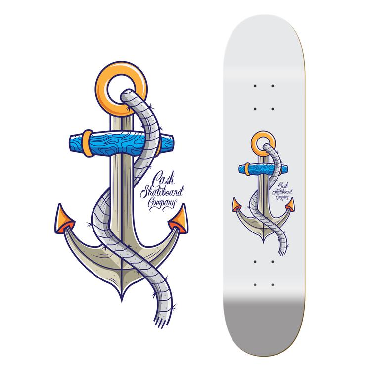 "Cash Skateboards ""Anchor"""