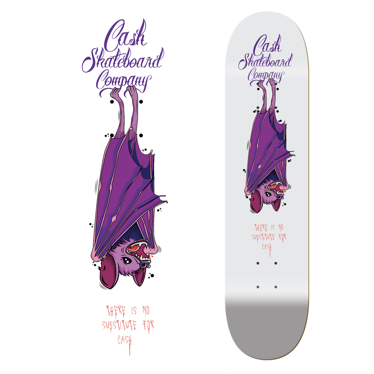"Cash Skateboards ""The Bat"""