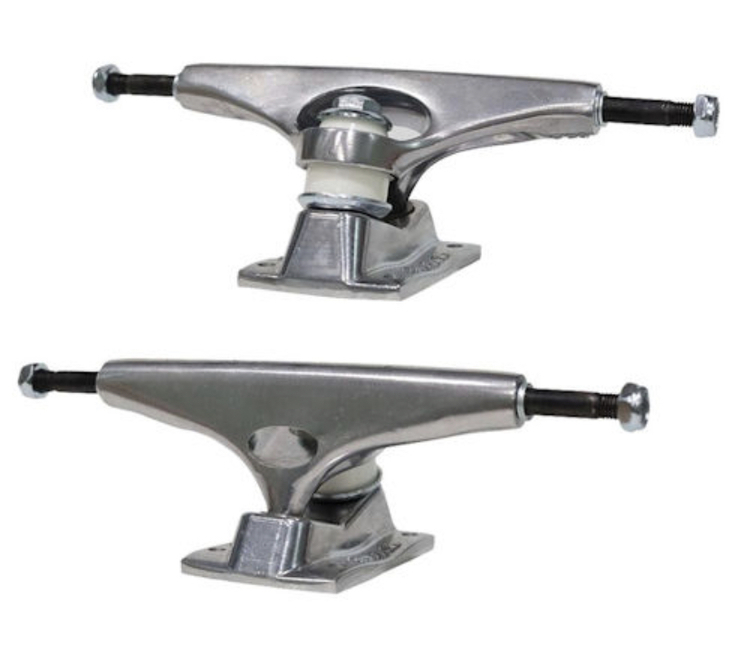 Krux Trucks – K5 – Polished Silver Standard – 8.0