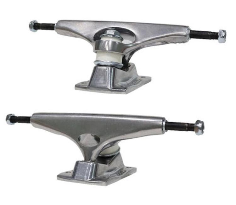 Krux Trucks – K5 – Polished Silver Standard – 7.6