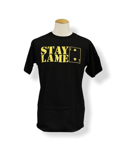 "Low Card-""stay lame logo tee"""