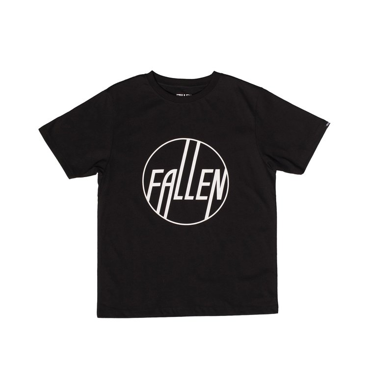 FALLEN - JUNIOR CIRCLE Tee - BLACK