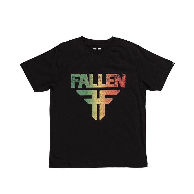 FALLEN - JUNIOR INSIGNIA Tee - BLACK