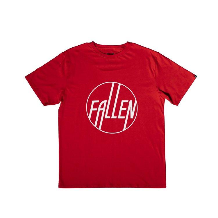 FALLEN - JUNIOR CIRCLE Tee - RED