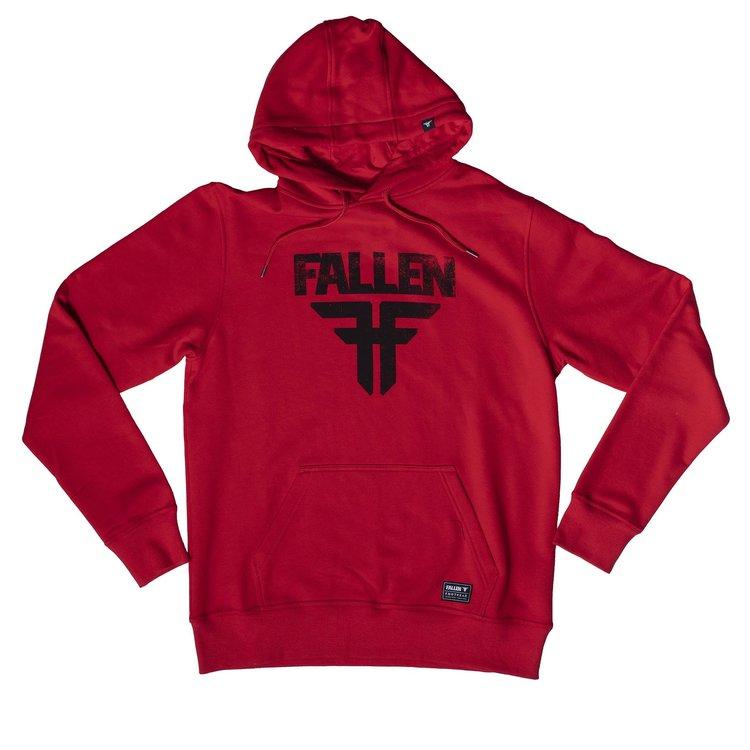 FALLEN - INSIGNIA HOODIE - RED