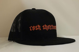 "Cash skateboard Trucker-""No.666 script"""