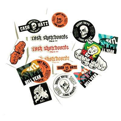 Blandade stickers