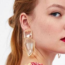 Bella earrings white