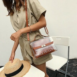 Alexis Transparent bag brown