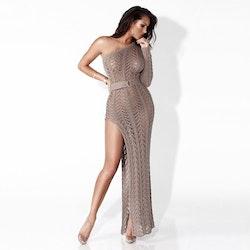 Isabella Knit dress bronze