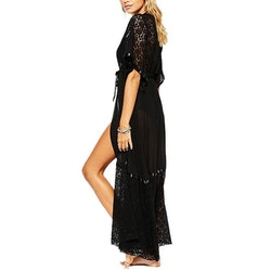 Selina Cover up dress black