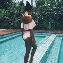 Ruth bikini white