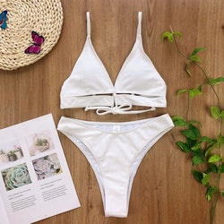 Kylie bikini white
