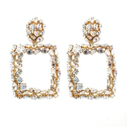Joelle earrings white