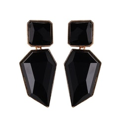 Bella earrings black