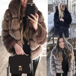 Belle Jacket faux fur